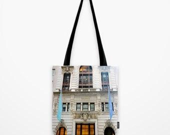Tiffany's Store Tote Bag, New York Tote Bag, Gym Bag, Shopping Bag, Girls Fashion Tote, Book Bag, School Tote, New York, Gift Idea