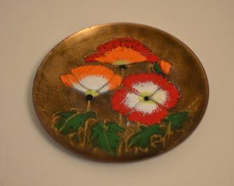 Vintage Margaret Ratcliff Flower Plate