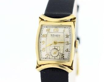 Gruen Veri-thin Gold Filled Wrist Watch