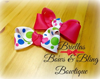 Coordinating Set of Boutique Bows