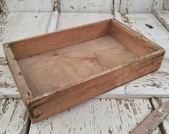 Vintage Wood Produce Crate