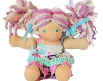 """Waldorf Doll , 'Chloe' , 10"""""""