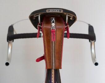 Leather Bicycle Tool / Saddle Bag