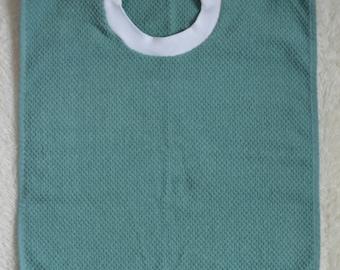 Aqua Towel Bib