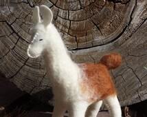 Felt Llama, Llama, ETSY Gift, Llama