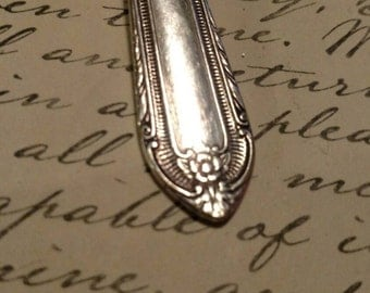 Vintage Silverplate Spoon keychain