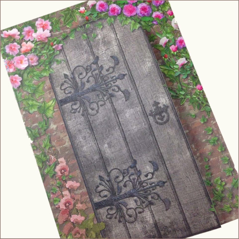 Outdoor Wedding Invitations: Secret Garden Wedding Invitation Romantic Wedding Invitation