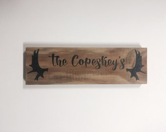 Personalized Wooden Sign - Last Name *Customizable*