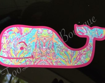 Lilly Whale Decal