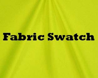 Spandex Fabric- Stretch Fabric - Shiny Neon Yellow Fabric, Four way Stretch Fabric, Neon Yellow Item#RXPN-92207-SWATCH