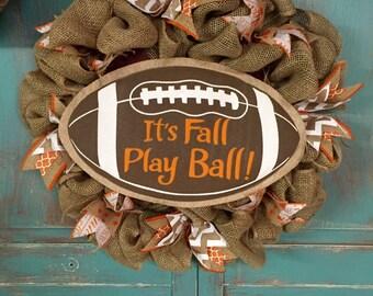 Tennessee Football Wreath