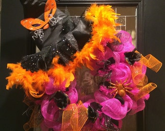 Whimsical Halloween Wreath