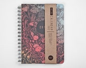 Planner 2016 October - 2017 October. Weekly Calendar Diary Day Journal Spiral A5 - FOREST Kalender Calendrier Calendario - Dated/Undated
