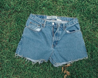 Vintage Women's Denim Cutoff Shorts