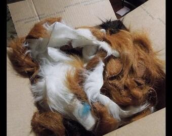 Large Faux Fur Scrap Box-- 6 pound box