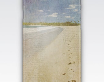 Case for iPhone 8, iPhone 6s,  iPhone 6 Plus,  iPhone 5s,  iPhone SE,  iPhone 5c,  iPhone 7  - Vintage Style Beach Design iPhone