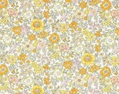 Lecien Memoire A Paris - Fat Quarter in White/Yellow