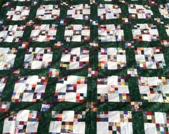 Double Nine-Patch Quilt Top