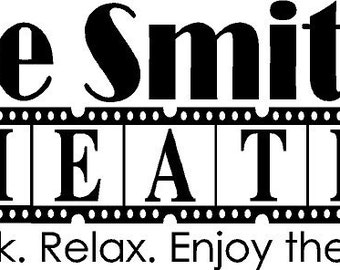Home Theater Decal Etsy - Custom vinyl wall decals sayings for home