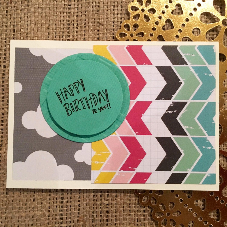 Pack of Ten Assorted Handmade Happy Birthday Greeting Cards