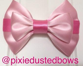 Disney's Aurora from Sleeping Beauty inspired hair bow