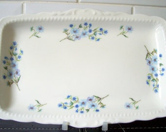 Richmond Blue Rock Sandwich Plate / Tray