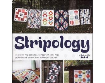 Book - Stripology by Gudrun Erla (GED508) Quilt Pattern Book Strip Piecing