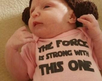 Star Wars Parody Princess Leia Wig Hat