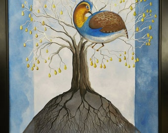 And a Partridge in a Pear Treeeee
