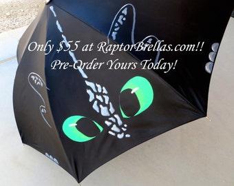 Dragon of Few Teeth-Inspired Umbrella