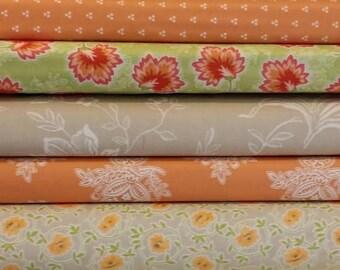 Moda 1/2 yard Somerset Fabric Bundle designed by Fig Tree & Co.   6 different fabrics