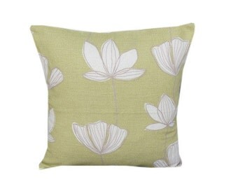 "Scandi Printed Gingko  16"" Cushion Cover"