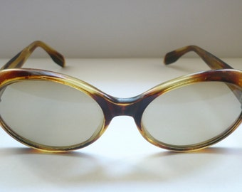 Vintage Sunglasses original 60s Eye cat Oval