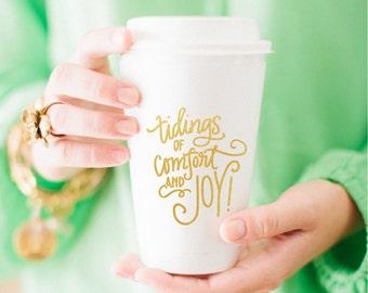 Comfort & Joy Coffee Cup (Set of 10)