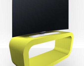 Lime Green Matt TV Stand - Hooptangle