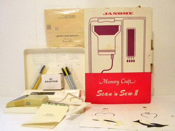 Janome memory craft scan n sew 241 machine embroidery for Janome memory craft 9000 problems