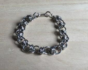 Sweet pea barrel bracelet