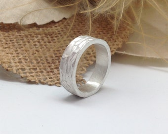 Ring Ocean in sterling silver