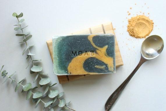 MOAB // Handmade // All Natural // Vegan // Bergamot // Eucalyptus // Soap