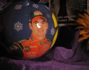 Jeff Gordon Nascar Christmas Ornament ... Collectors