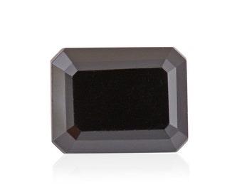 Thai Black Spinel Octagon Cut Loose Gemstone 1A Quality 9x7mm TGW 2.10 cts.
