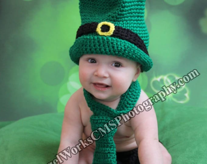 St. Pattys Day Crochet Outfit