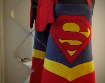 Superman Kitchen Apron