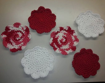Flower Shaped Drink Coasters