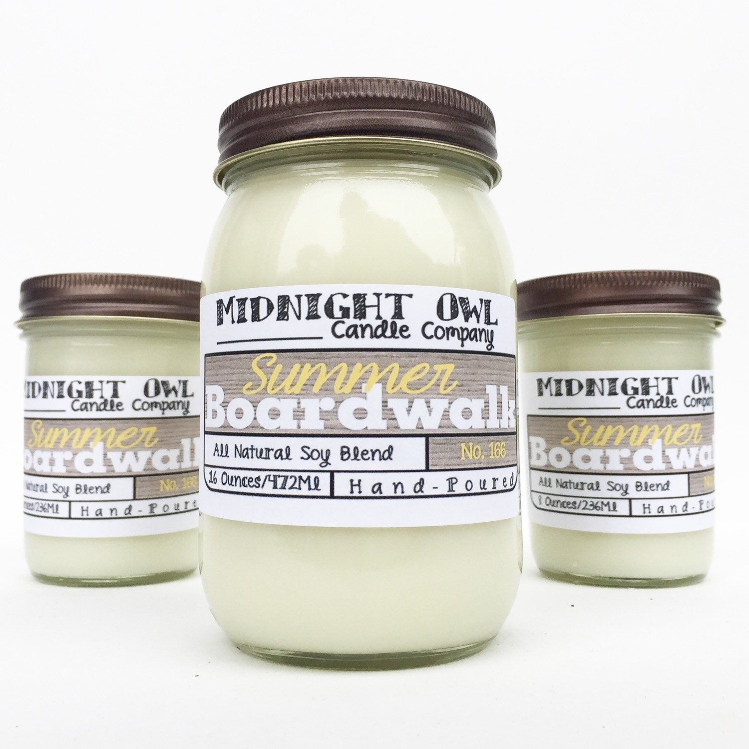 Summer Boardwalk Candle scented soy candle by ...
