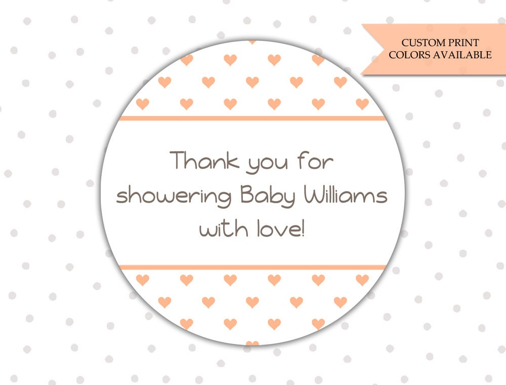baby shower stickers personalized baby shower stickers