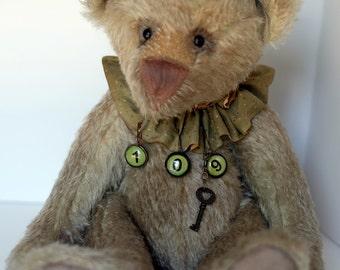 Green Mohair Bear