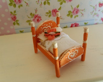 Toy for Doll House Bed