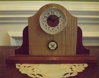 NAVY MILITARY CLOCK