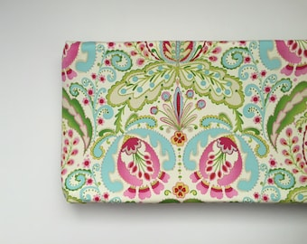 Changing Pad Cover - Kumari Garden - Teja in Pink